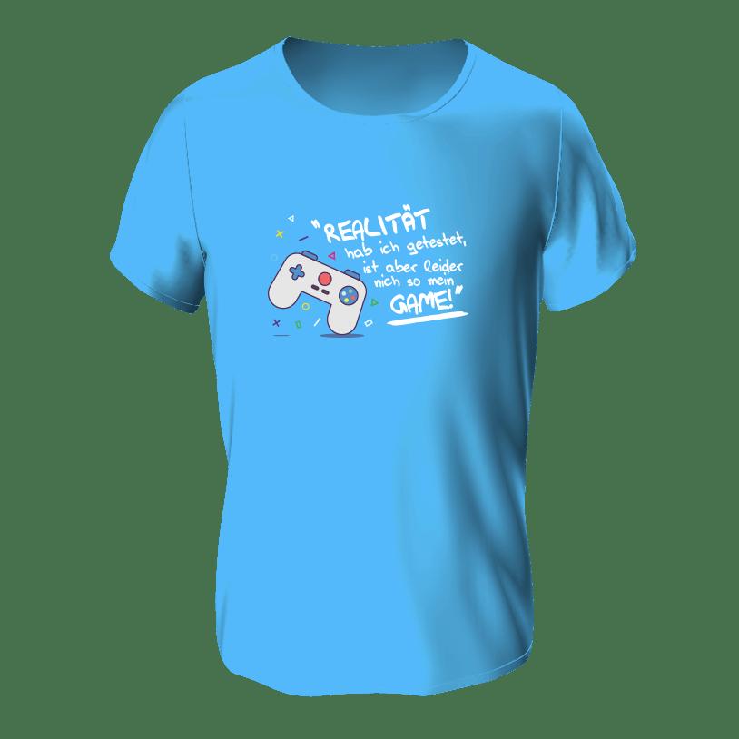 T_Shirt Motiv Gamer