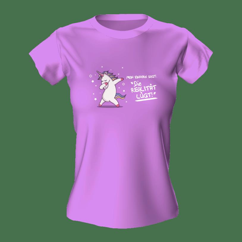 T-Shirt Motiv Einhorn